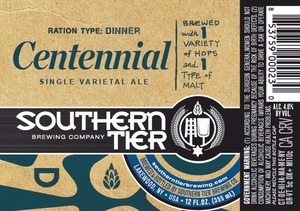 Southern Tier Brewing Company Centennial
