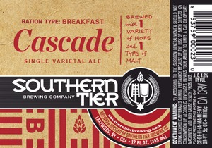 Southern Tier Brewing Company Cascade