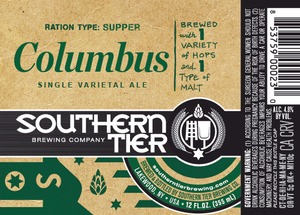 Southern Tier Brewing Company Columbus
