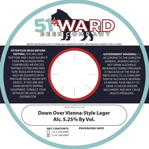 Down Over Vienna-style Lager