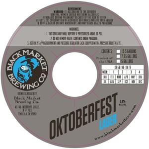 Black Market Brewing Co Oktoberfest