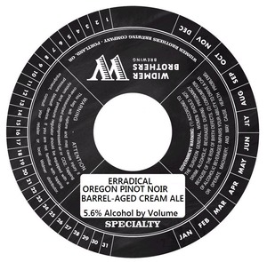 Widmer Brothers Brewing Company Erradical August 2014