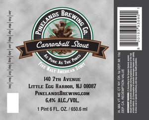 Cannonball Stout