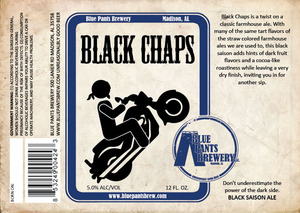 Blue Pants Brewery Black Chaps