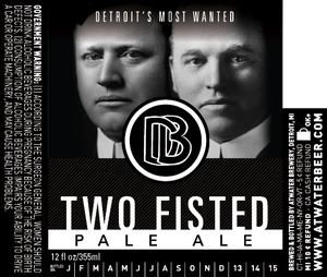 Atwater Brewery Two Fisted