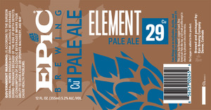 Epic Brewing Company Element 29