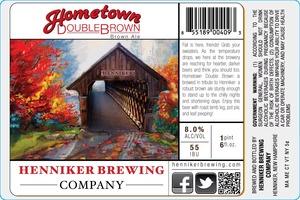 Henniker Brewing Company Hometown Double Brown