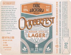 Fête de la bière Oktoberfest à la brasserie Olde Hickory