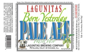 The Lagunitas Brewing Company Born Yesterday