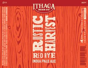 Ithaca Beer Company Rustic Harvest Red Rye