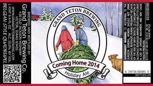 Grand Teton Brewing Company Coming Home 2014
