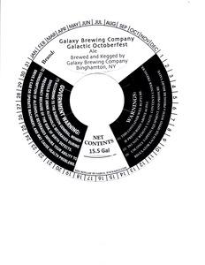 Galaxy Brewing Company Galactic Octoberfest