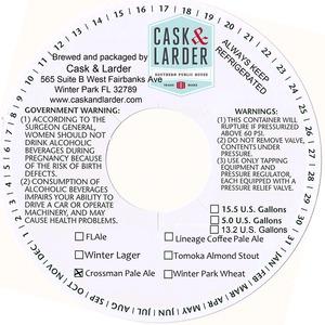 Cask & Larder Crossman Pale Ale