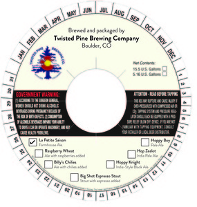 Twisted Pine Brewing Company La Petite Saison