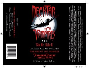 Twisted Pine Brewing Company Necktar Of The Vampires