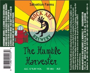 Rock Art Brewery The Humble Harvester Ale