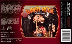 Amager Bryghus Danish Metal