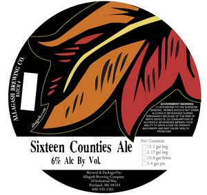 Allagash Brewing Company Sixteen Counties Ale