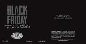 Lakefront Brewery Black Friday Imperial