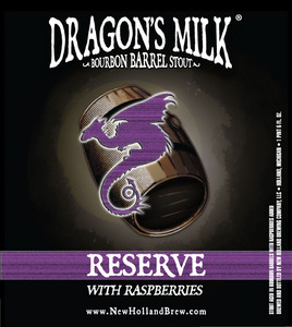 New Holland Brewing Company Dragon's Milk Reserve With Raspberries