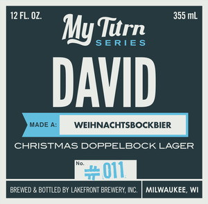 Lakefront Brewery, Inc Dave Made A Weihnachtsbockbier Christmas