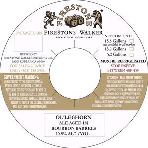 Firestone Walker Brewing Company Ol' Leghorn