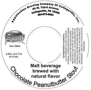Appalachian Brewing Co. Chocolate Peanutbutter