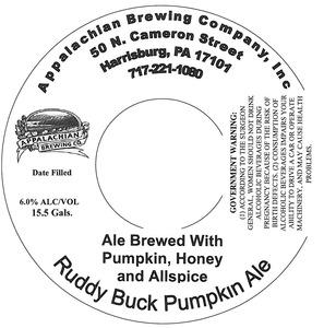 Appalachian Brewing Co Ruddy Buck Pumpkin