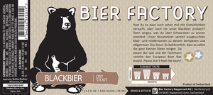 Bier Factory Blackbier