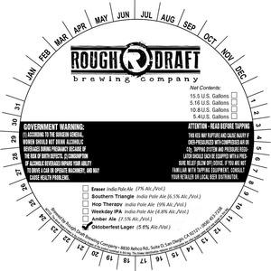 Rough Draft Brewing Company Oktoberfest