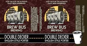 Cigar City Brewing Brew Bus Double Decker