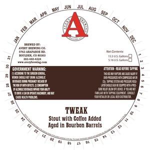 Avery Brewing Company Tweak