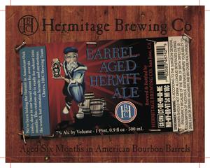 Hermitage Brewing Company Barrel Aged Hermit