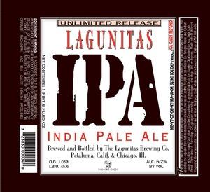 The Lagunitas Brewing Company IPA