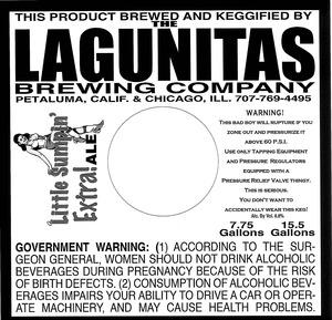The Lagunitas Brewing Company A Little Sumpin Extra
