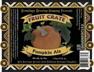 Hermitage Brewing Company Fruit Crate Pumpkin Ale