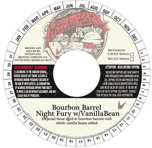 Witch's Hat Brewing Company Bourbon Barrel Night Fury W/vanilla Bean