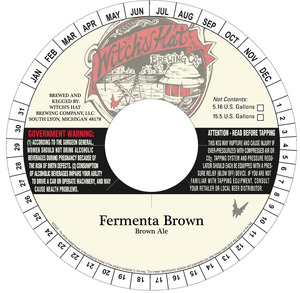 Witch's Hat Brewing Company Fermenta Brown