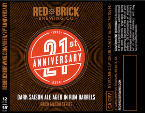Red Brick 21st Anniversary