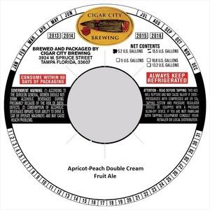 Apricot-peach Double Cream August 2014
