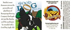 Rumspringa Brewing Company Good Dog Apple Ale