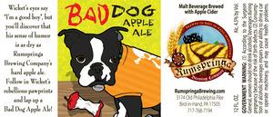 Rumspringa Brewing Company Bad Dog Apple Ale