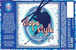 Slope Style Winter IPA