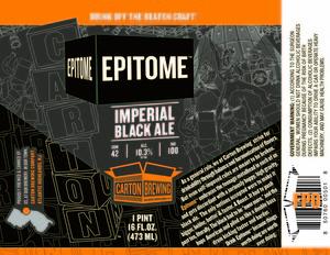 Carton Brewing Co. Epitome