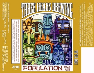 Three Heads Brewing Population