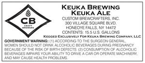 Keuka Brewing Keuka Ale