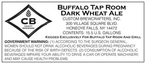 Buffalo Tap Room Dark Wheat