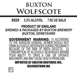 Buxton Brewery Wolfscote