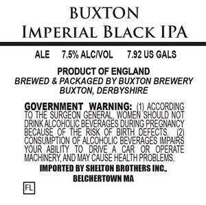 Buxton Brewery Imperial Black IPA