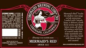 Coronado Brewing Company Mermaid's Red